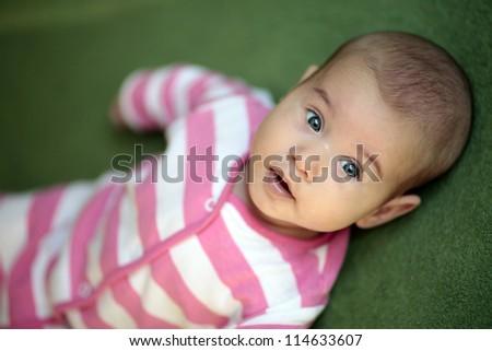 Baby child - stock photo