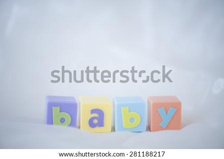 Baby cubes - stock photo