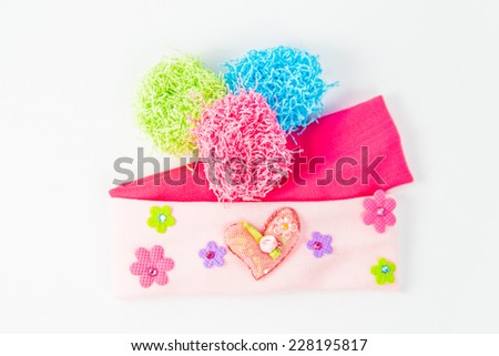 Baby Headband - stock photo