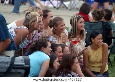Bachelorettes - stock photo