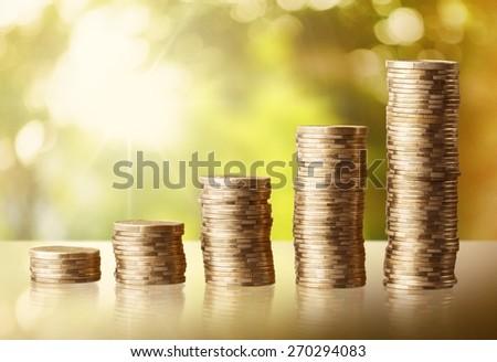 Back, background, bank. - stock photo