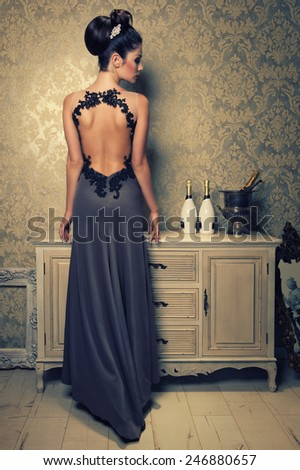 back is beauty - stock photo