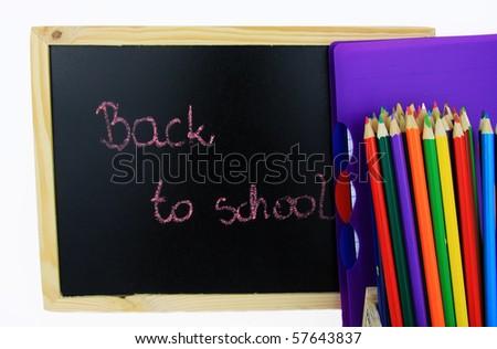 Back to school! - stock photo