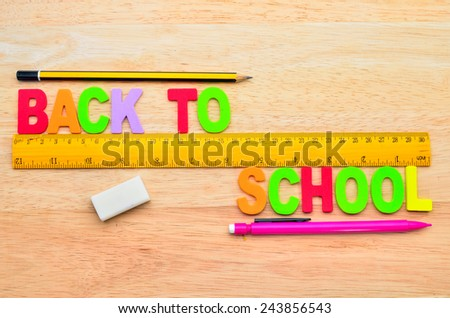 Back to school concepts - stock photo