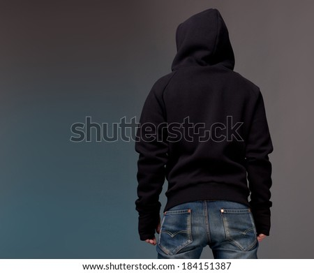 Back view  - stock photo