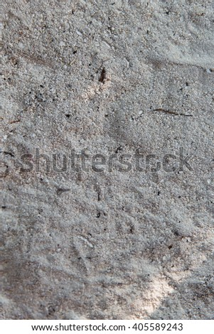 background and texture concept - close up of sand surface - stock photo