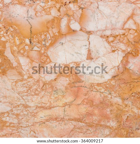 background and texture of bright smooth brown marble for decorative wall or floor - stock photo