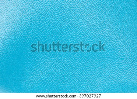 background Blue leather texture of bag - stock photo