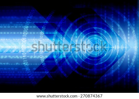 Background conceptual image of digital 3d icons - stock photo