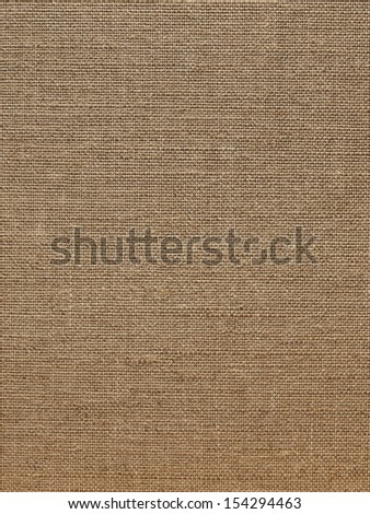 Background from a linen fabric of rough manufacture - stock photo