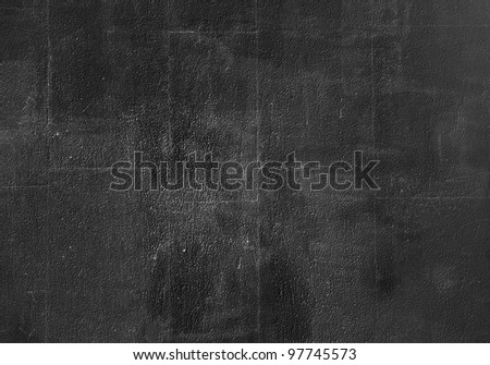 Background from high detailed fragment black stone wall - stock photo