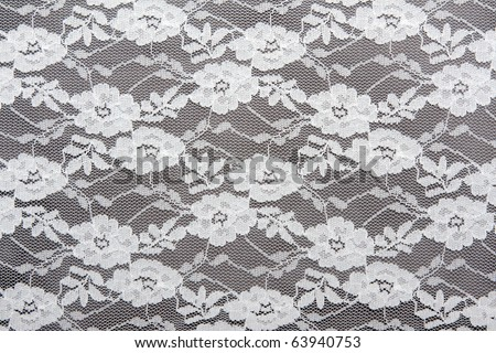 Background from lace with pattern - stock photo