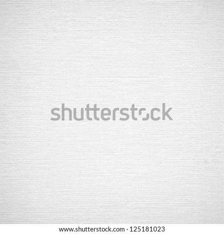Background from white coarse canvas texture. Clean background. No dust. Image with copy space and light place for your design project. High res. - stock photo