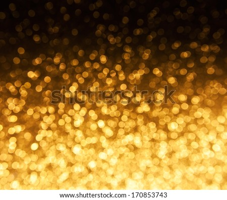 Background. Holiday Abstract Glitter Defocused Background With Blinking Stars. Blurred Bokeh - stock photo