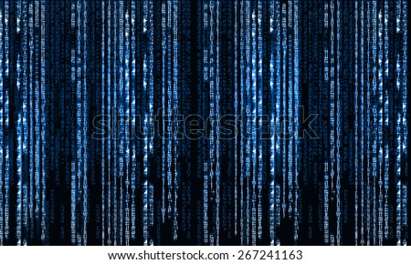 Background image with characters representing security concept - stock photo