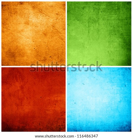 background in grunge style  containing different textures - stock photo