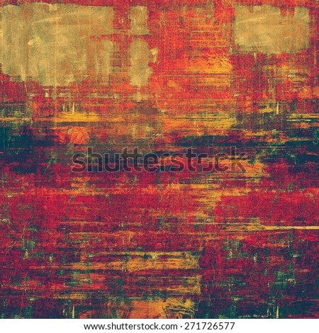 Background in grunge style. With different color patterns: brown; purple (violet); pink; green; red (orange) - stock photo