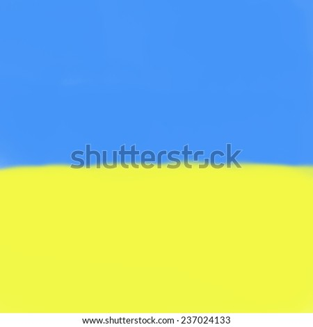 background in yellow and blue tones  - stock photo