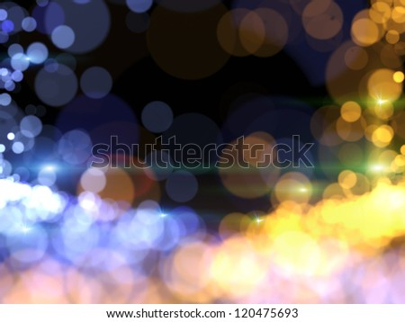 Background lights - stock photo