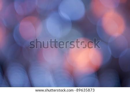 Background Lights. Defocused - stock photo