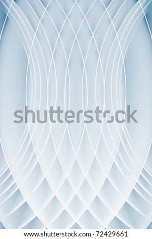 background macro image of black and white origami pattern made of several curved sheets of paper. - stock photo