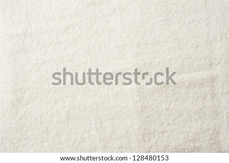 Background material cloth towel - stock photo