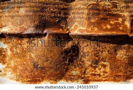 background metal sheet - stock photo