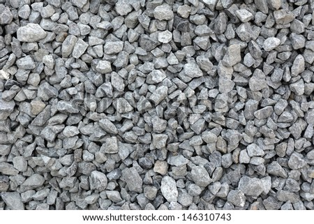 Background of a gravel stone  - stock photo
