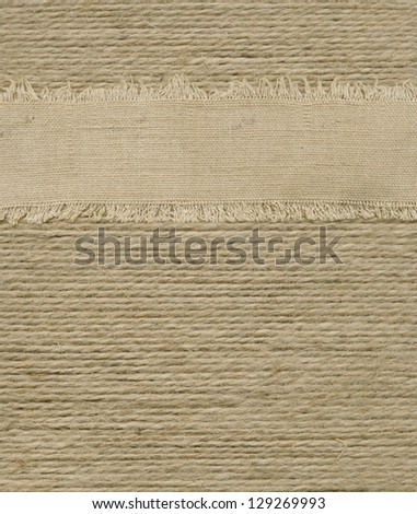 Background of a large number of ropes - stock photo