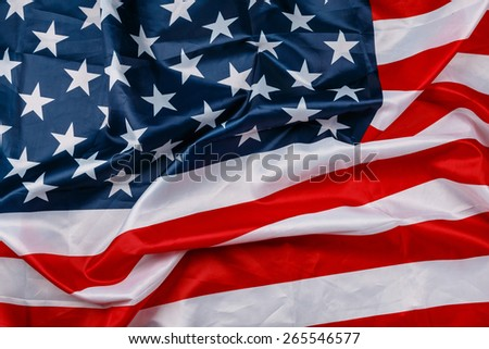 Background of american flag - stock photo
