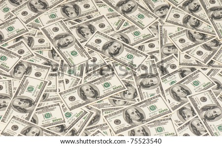background of American money. high resolution. concept. studio. - stock photo