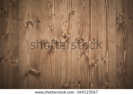 Background of an old natural wooden darken room. - stock photo