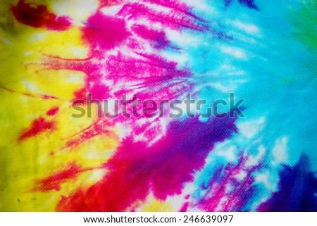 Background of Batik - stock photo