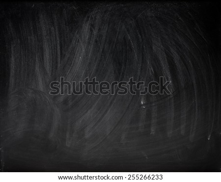 background of black school board - stock photo