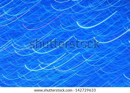 Background of Blue - Art, Abstract, Color and Texture of Light - Sweeping through time and borders of imagination. - stock photo