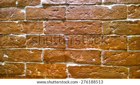 Background of brick wall paper - stock photo