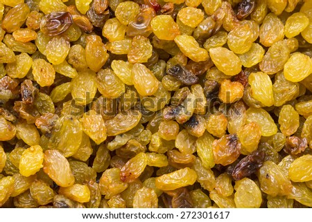 background of candied dried fruit - stock photo
