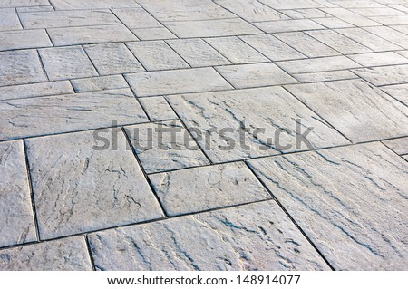 background of floor with paving stones - stock photo