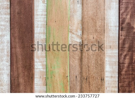 Background of gloomy charred wooden fence - stock photo