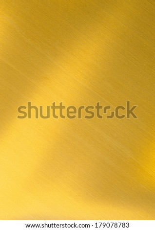 Background of golden metal surface  - stock photo