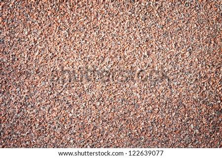 Background of granite chips - stock photo