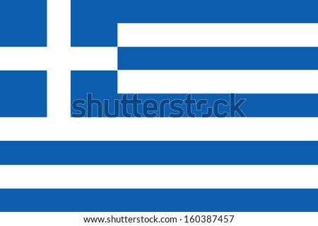 background of greece flag - stock photo