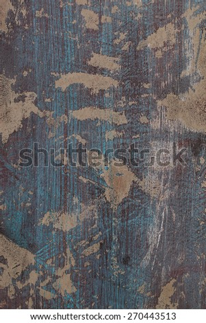 Background of grunge red and blue painted wall  - stock photo