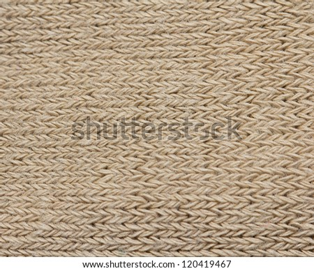 background of knitted fabrics - stock photo