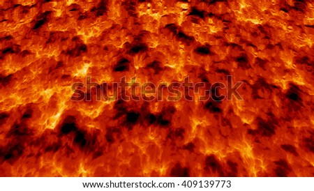 background of magma lava - stock photo