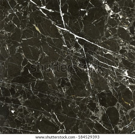 Background of marble in black and white - stock photo