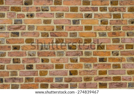 Background of old brick wall - stock photo