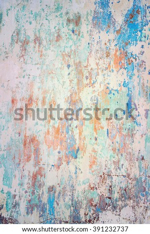 Background of old painted wall - stock photo