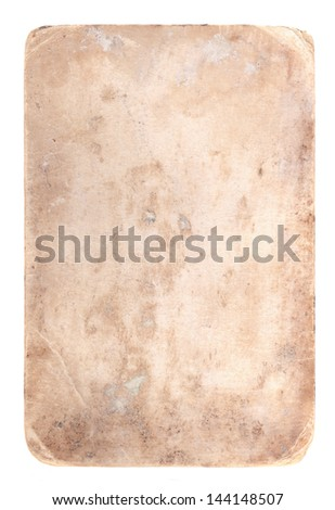background of old photo paper stained texture - stock photo