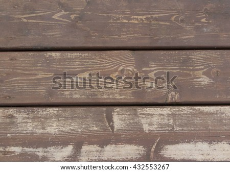 Background of old wooden planks - stock photo